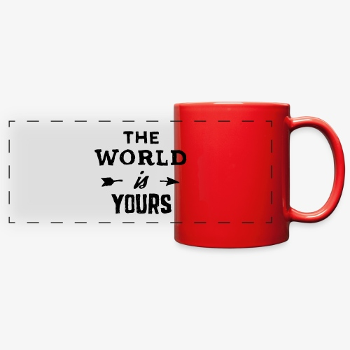 the world - Full Color Panoramic Mug