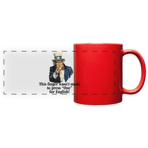 Uncle Sam - Finger - Full Color Panoramic Mug