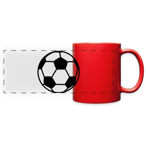 custom soccer ball team - Full Color Panoramic Mug