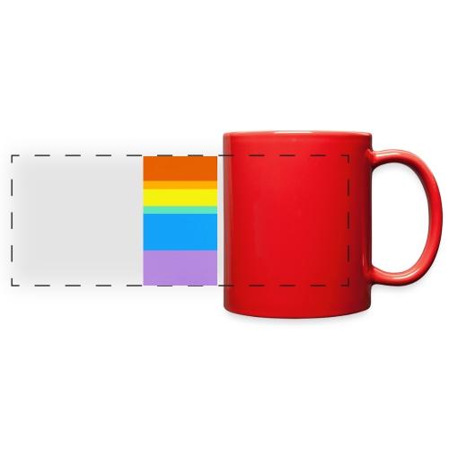 Modern Rainbow - Full Color Panoramic Mug