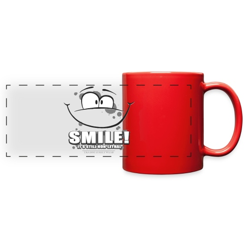 Smile - it's still non-lethal - Full Color Panoramic Mug