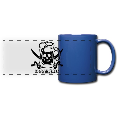 Beerate - black - Full Color Panoramic Mug