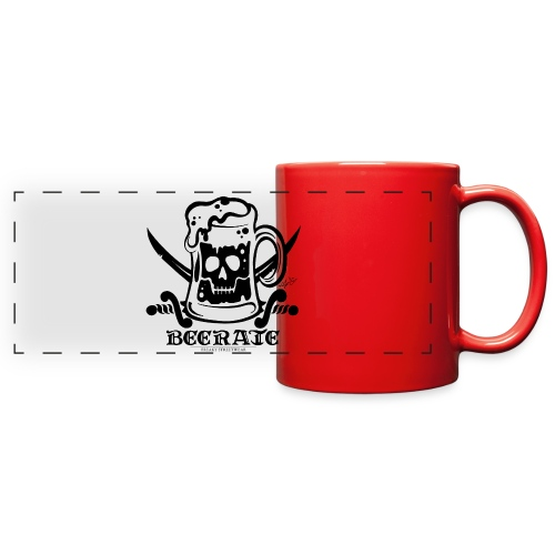 Beerate - black - Full Color Panoramic Mug