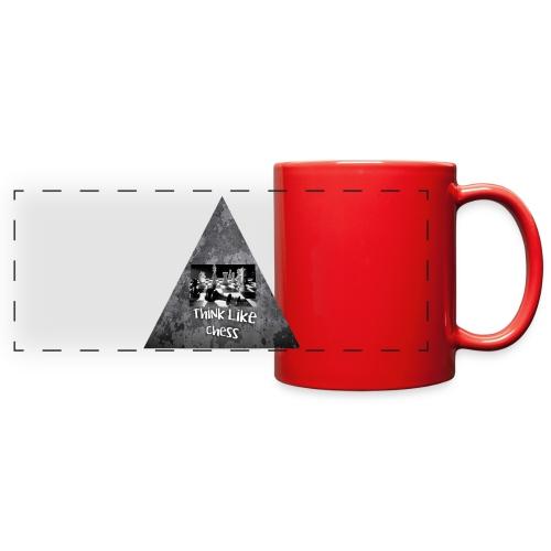 Think Like Chess Logo - Full Color Panoramic Mug