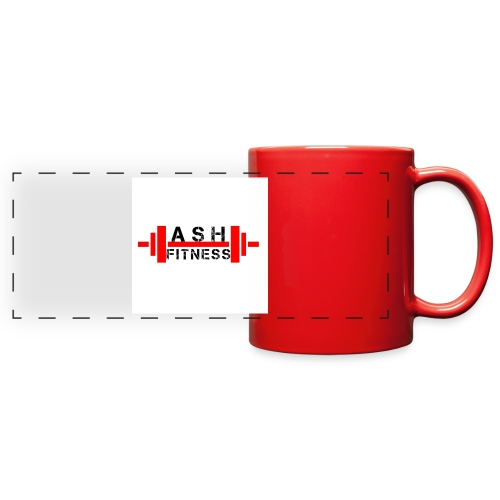 ASH FITNESS MUSCLE ACCESSORIES - Full Color Panoramic Mug
