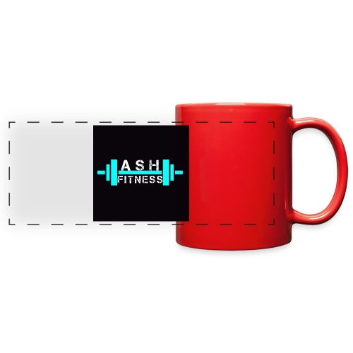 ASH FITNESS ACCESSORIES - Full Color Panoramic Mug