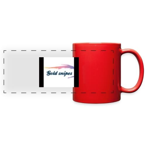 Kids Gold snipes Tshirt - Full Color Panoramic Mug