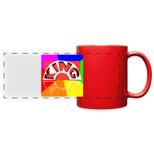 meme logo - Full Color Panoramic Mug
