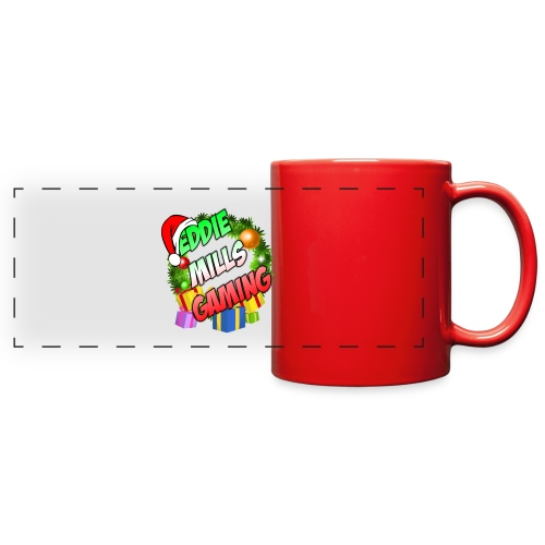 Eddie Mills Christmas - Full Color Panoramic Mug