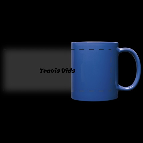 White shirt - Full Color Panoramic Mug
