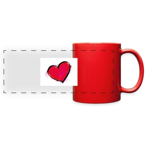 heart 192957 960 720 - Full Color Panoramic Mug