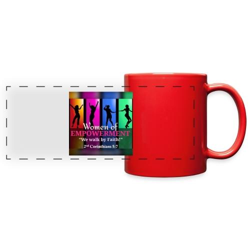 Woman Of Empowerment - Full Color Panoramic Mug