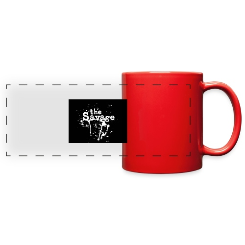 the savage - Full Color Panoramic Mug