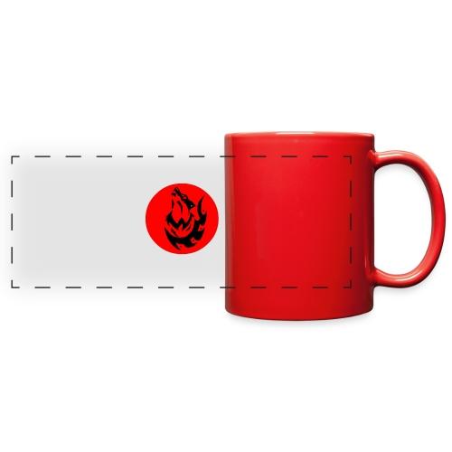 Wolf Logo - Full Color Panoramic Mug