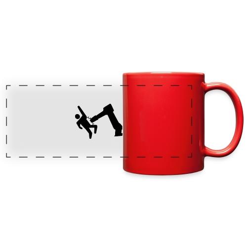 Robot Wins! - Full Color Panoramic Mug