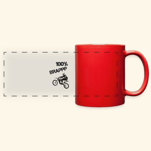 100% BRAPPP (Black and White) - Full Color Panoramic Mug