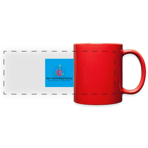 Debs Creative Design Boutique 1 - Full Color Panoramic Mug