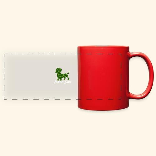 PUFFY DOG - PRESENT FOR SMOKING DOGLOVER - Full Color Panoramic Mug