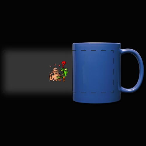 Album cover '...!' for the band ...? - Full Color Panoramic Mug