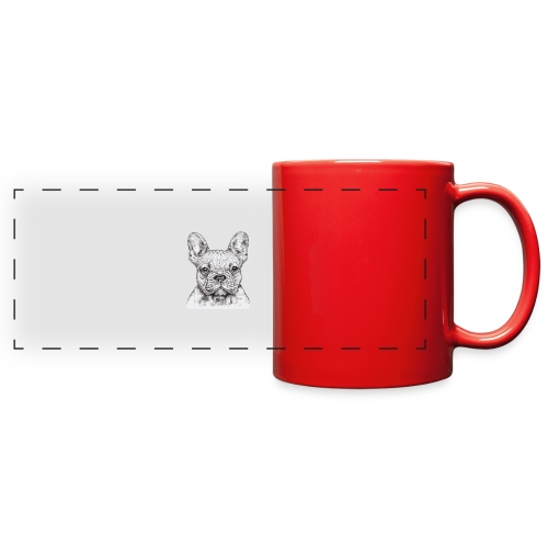 French Bulldog - Full Color Panoramic Mug