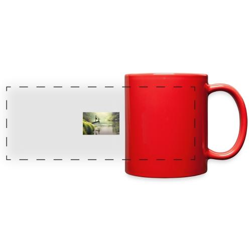 fishing - Full Color Panoramic Mug