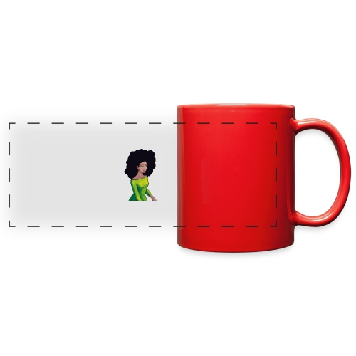 searchful eyes. - Full Color Panoramic Mug