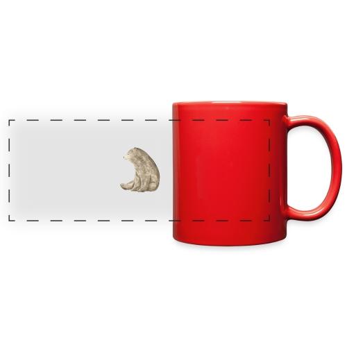Sitting Bear - Full Color Panoramic Mug