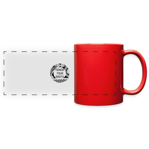 Honor Your Roots (Black) - Full Color Panoramic Mug