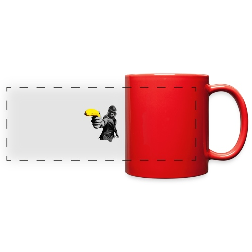 Officer Ape 001 - Full Color Panoramic Mug