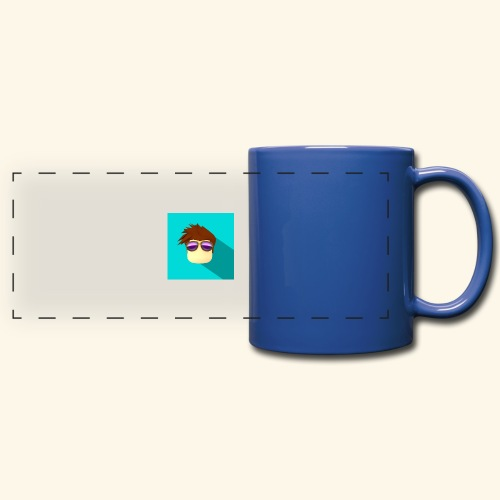 NixVidz Youtube logo - Full Color Panoramic Mug