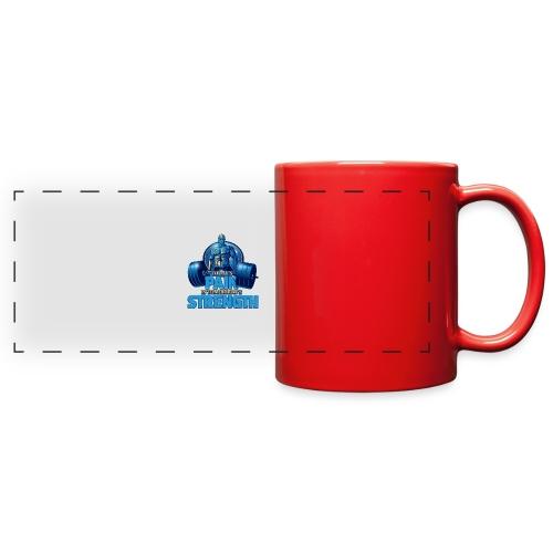 Heavy Lifting Man - Full Color Panoramic Mug