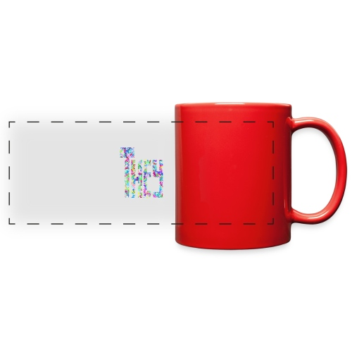 They/Them/Their Pattern They - Full Color Panoramic Mug