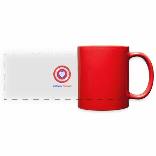 CAPTAIN MAMAN - Full Color Panoramic Mug
