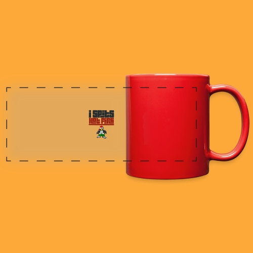 I Spits Hot Fire - Full Color Panoramic Mug