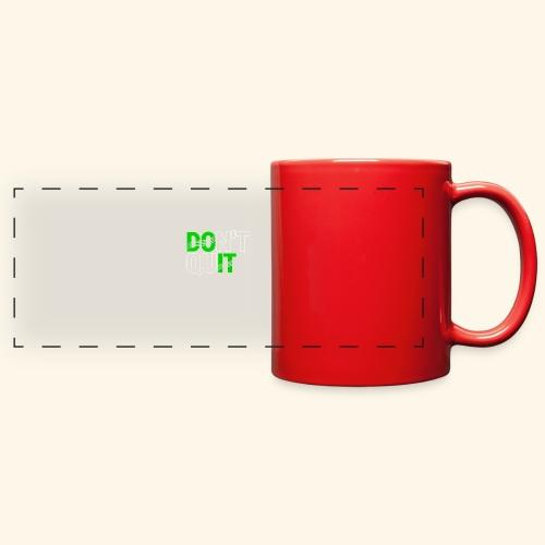 DON'T QUIT #4 - Full Color Panoramic Mug