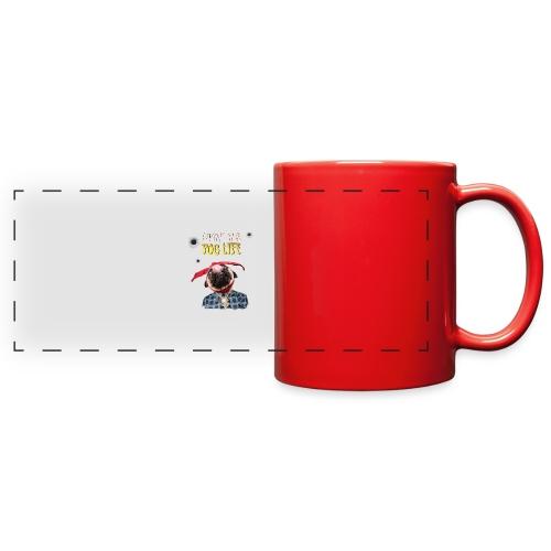 livin' the puglife - Full Color Panoramic Mug