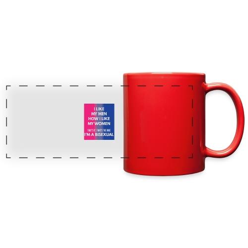 Bisexual - Bi - LGBT - Gay Pride - Gift - Full Color Panoramic Mug