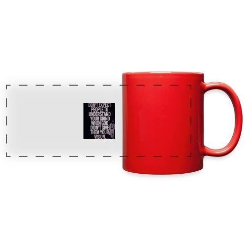 HUSTLE 10 - Full Color Panoramic Mug