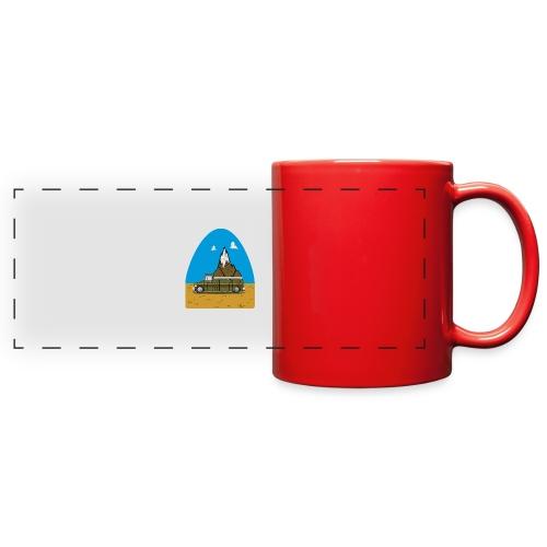 faith moves mountains 2018 - Full Color Panoramic Mug
