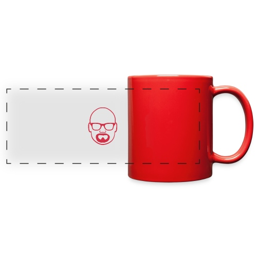 MDW Music official remix logo - Full Color Panoramic Mug