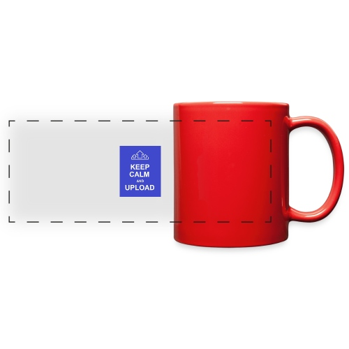 RockoWear Keep Calm - Full Color Panoramic Mug