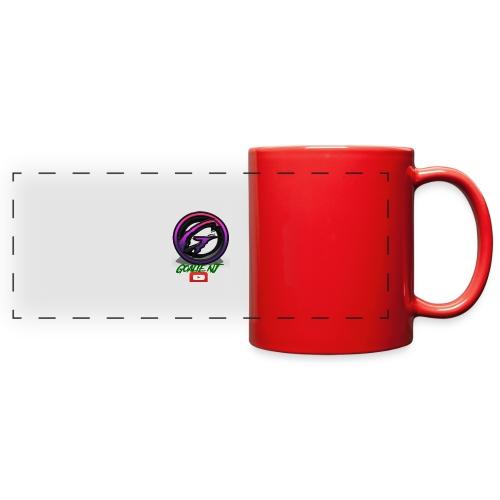 goalie nj logo - Full Color Panoramic Mug