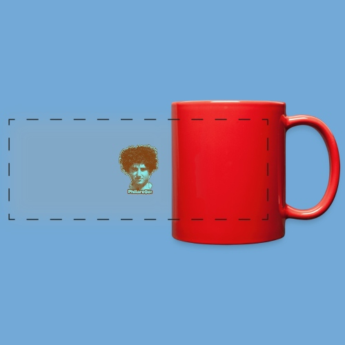 Shaggy Hair man. - Full Color Panoramic Mug
