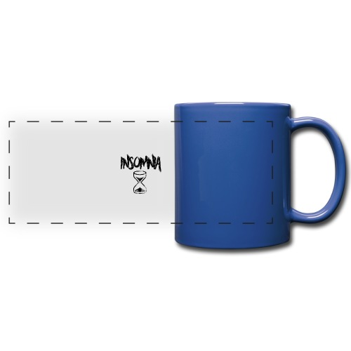 Insomnia Abstract Design - Full Color Panoramic Mug