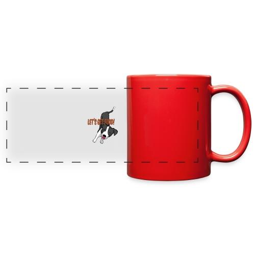 Foodie Dog Border Collie - Full Color Panoramic Mug