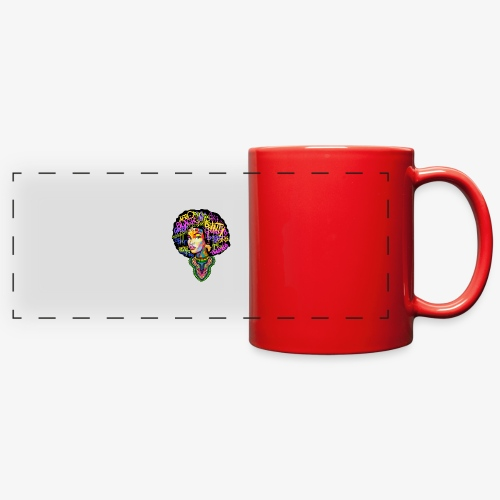 Afro Queen Dashiki - Full Color Panoramic Mug