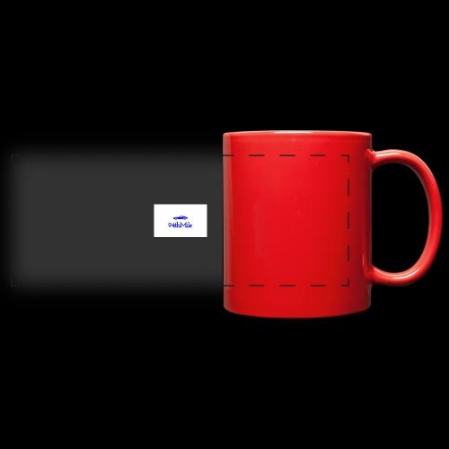 Blue 94th mile - Full Color Panoramic Mug