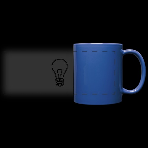 lightbulb - Full Color Panoramic Mug