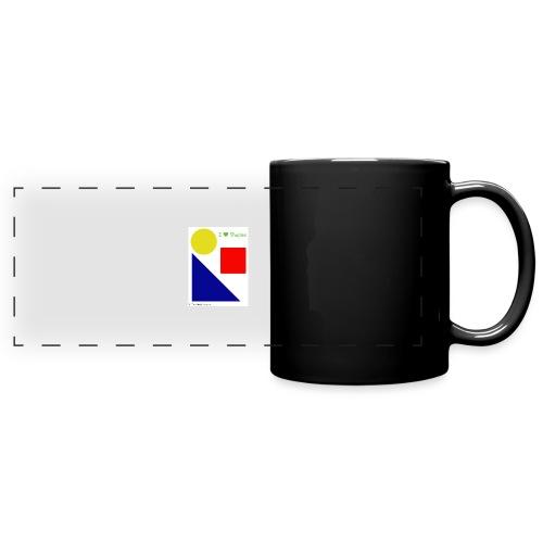 Hi I'm Ronald Seegers Collection-I Love Shapes - Full Color Panoramic Mug