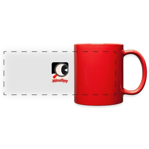 MiceSpy with your eye! - Full Color Panoramic Mug